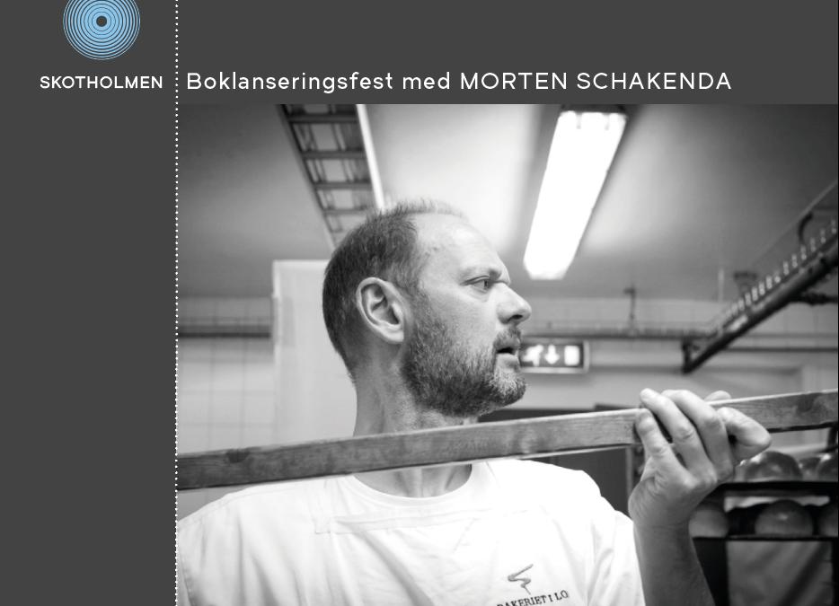 Boklanseringsfest på Skotholmen med Morten Schakenda laurdag 11. november!