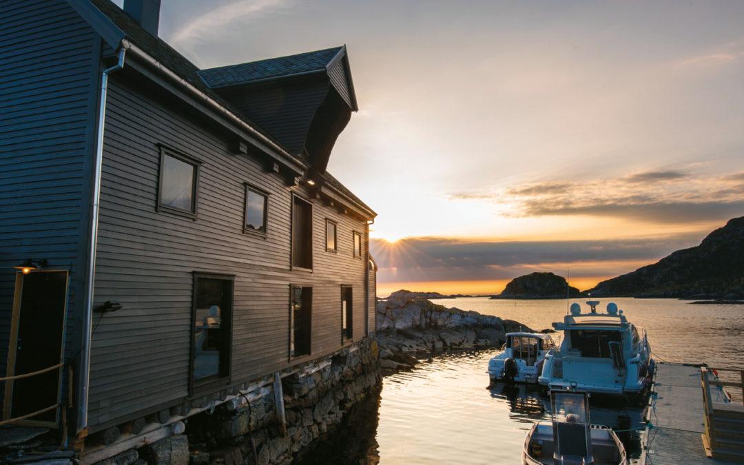 Båtrute frå Ålesund til Skotholmen